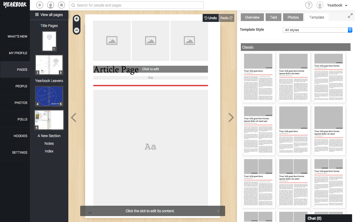 Article_Page Template Chosen
