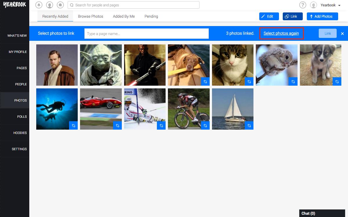 Select Photos Again