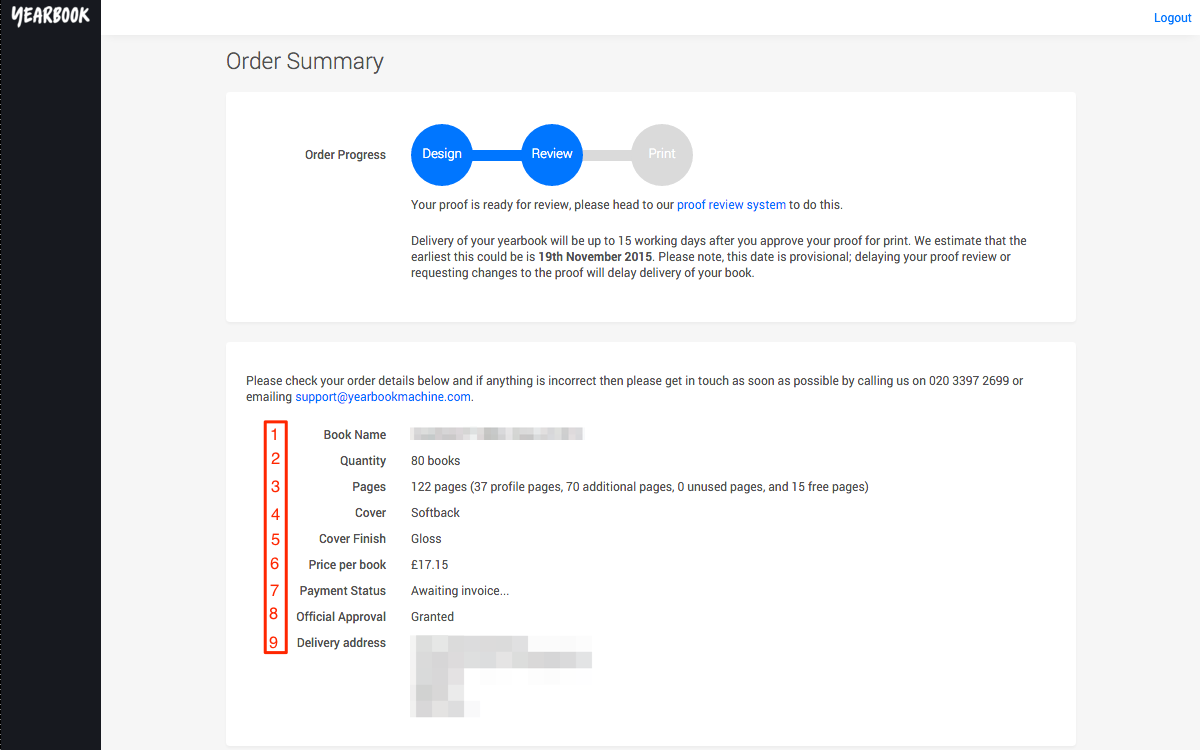 Order Summary